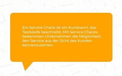 Was ist Mystery Shopping?